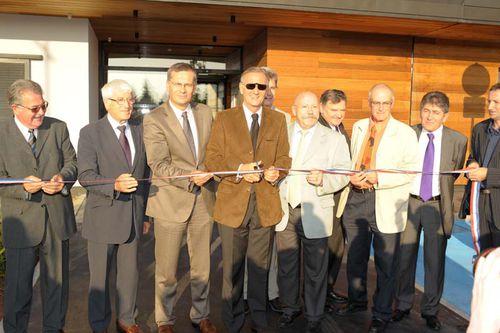 Inauguration du siège de Bièvre Est