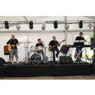 Ceux d'en Bas, le groupe de Rock qui a animé cette soirée avec Live Celebrations pour la gestion du son et des lumières