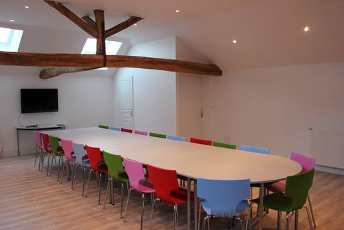 Une nouvelle salle de réunion chez Hiceo