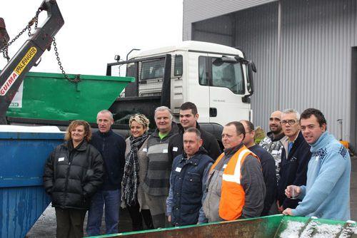 Arc en Ciel Recyclage à Bourgoin-Jallieu inauguré