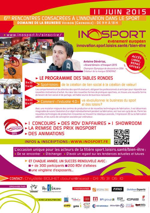 Le Programme de la  6ème édition d'Inosport