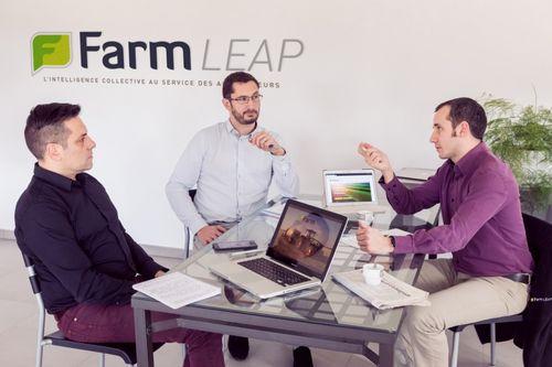Hiceo en charge des relations presse et de la rédaction des communiqués de presse pour le compte de la Startup FarmLeap