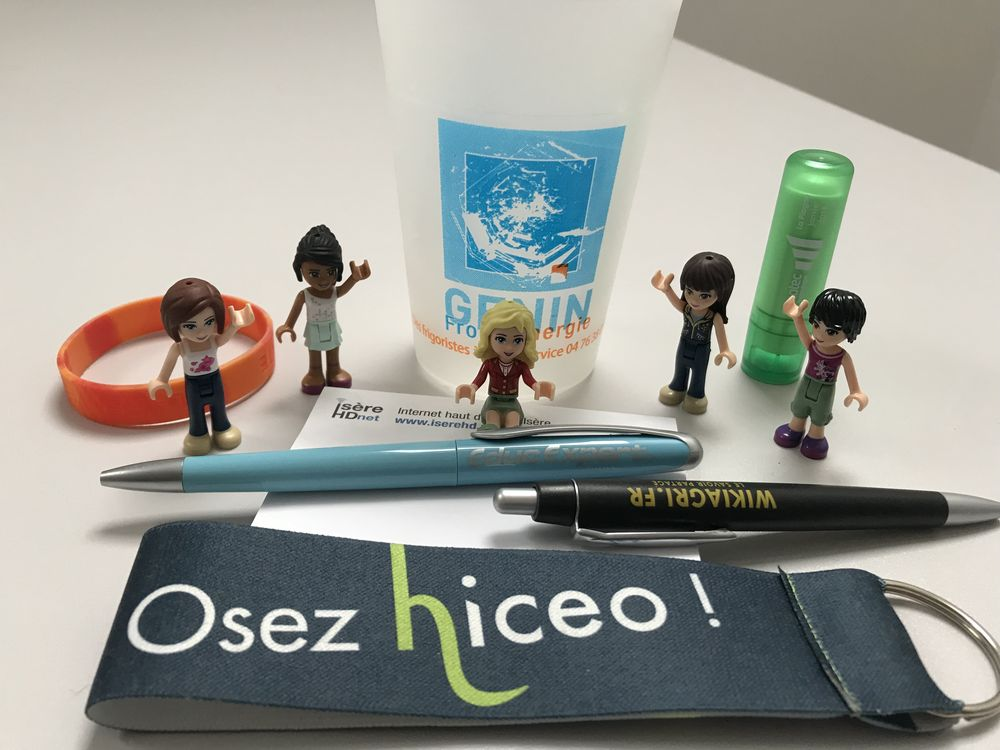 "Hiceo réalise vos supports de communication ""goodies"""