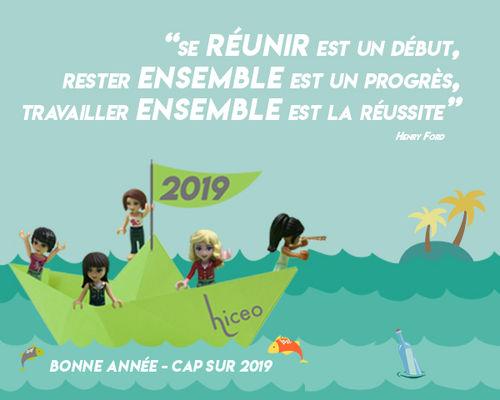⛵Hiceoclôture l'année 2019 en douceur.⛵