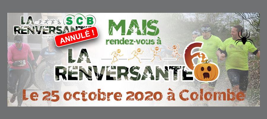 ❌ L'annulation de La Renversante SCB laisse place à ✅ La Renversante 6'trouille