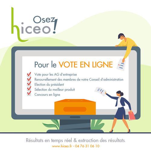 En cette période de confinement, pensez au vote en ligne.