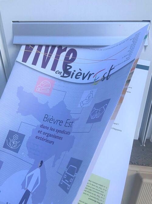 Hiceo assure la livraison du journal d'information de la communauté de communes Bièvre Est