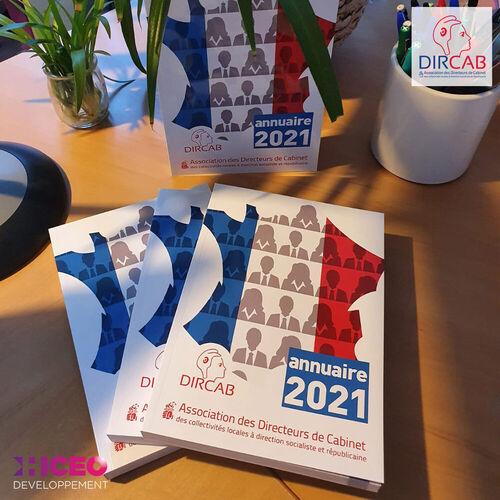 Hiceo réalise l'annuaire de l'association DIRCAB