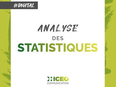 Trimestriellement Hiceo réalise le relevé des statistiques pour ses clients