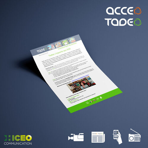 Hiceo s'occupe des relations presse pour son client Delta process et ses solutions Acceo/ Tadeo