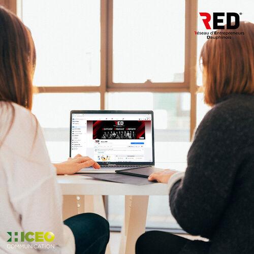 Hiceo s'occupe de l'animation des réseaux sociaux du réseau RED